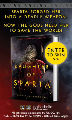 Jimmy Patterson: Daughter of Sparta by Claire Andrews