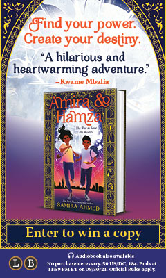 Little, Brown Books for Young Readers: Amira & Hamza: The War to Save the Worlds by Samira Ahmed