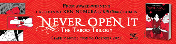 Yen Press: Never Open It: The Taboo Trilogy by Ken Niimura