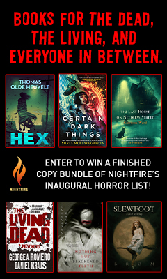 Tor Nightfire: Enter to win a finished copy bundle of Nightfire's inaugural horror list!