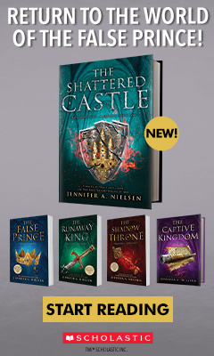 Scholastic Press: The Shattered Castle (The Ascendance Series, Book 5) by Jennifer A Nielsen