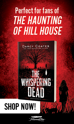 Poisoned Pen Press: The Whispering Dead (Gravekeeper #1) by Darcy Coates