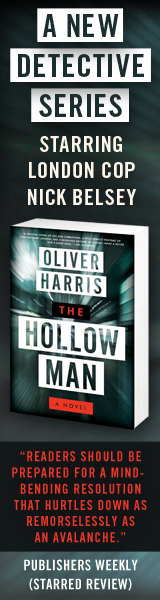 Harper Paperbacks: The Hollow Man by Oliver Harris