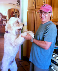 Barney Saltzberg and Arlo