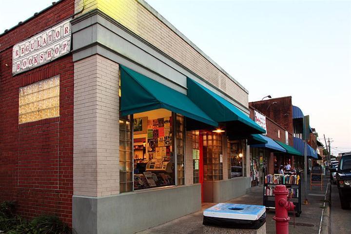 regulator bookshop