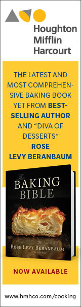 Houghton Mifflin Harcourt: Baking Bible by Rose Levy Beranbaum