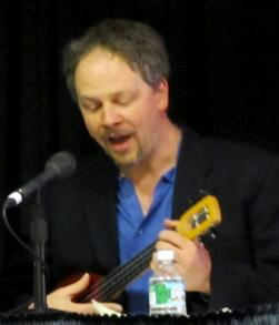 Bill Barnes, Unshelved, library anthem, photo by Robin Lenz