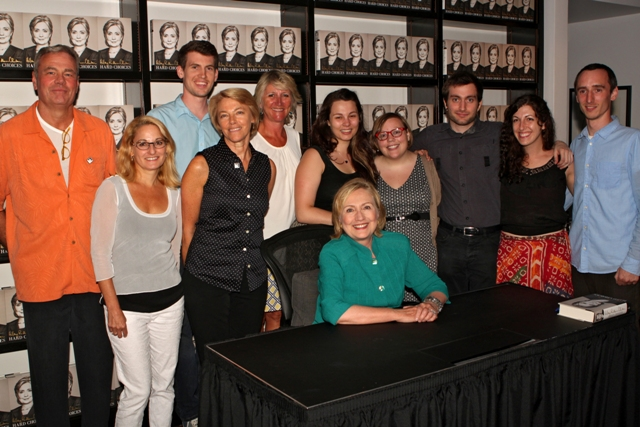 Hillary Clinton at Books & Books