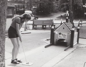 author June Melby, My Family and Other Hazards, minigolf