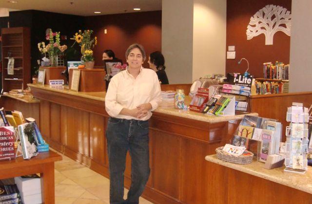Luann Stauss at Laurel Book Store