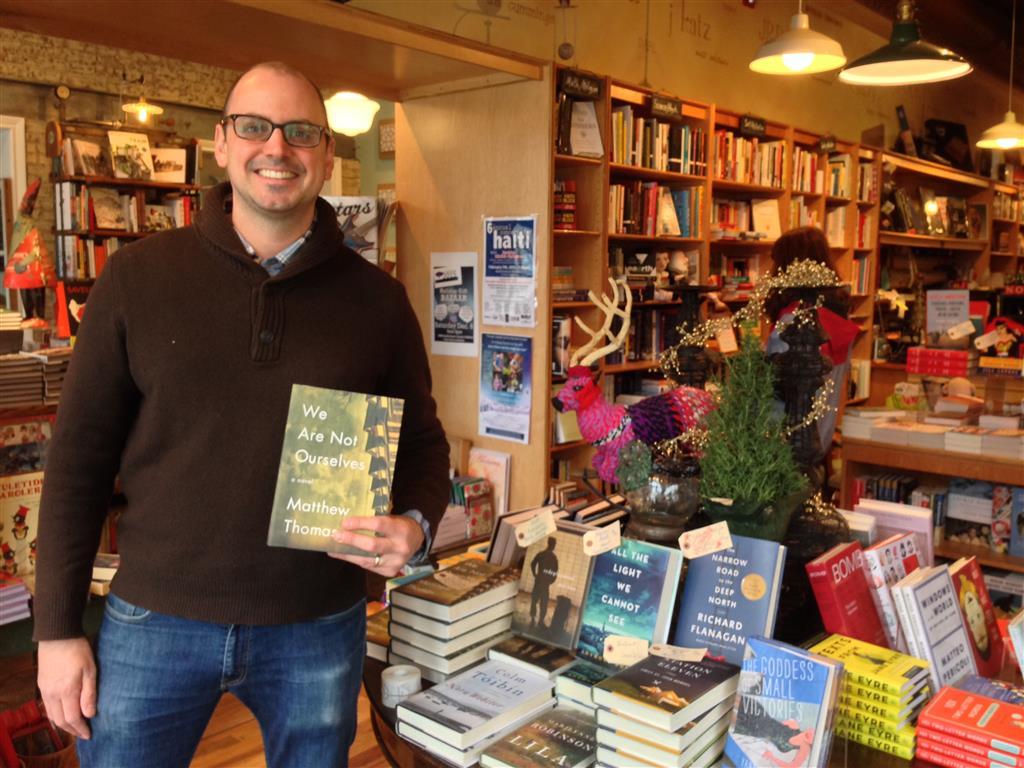 Matthew Thomas at Watchung Booksellers