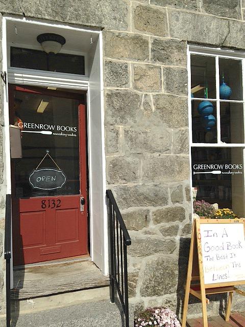 greenrow books storefront