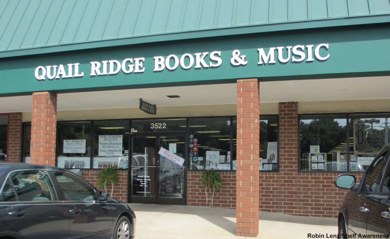Quail Ridge Books, Raleigh, bookstore, shelf awareness