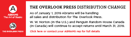 Abrams: The Overlook Press Distribution Change