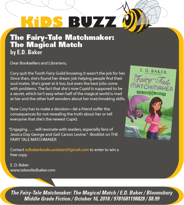 KidsBuzz: Bloomsbury Children's Books: The Fairy-Tale Matchmaker: The Magical Match by E.D. Baker