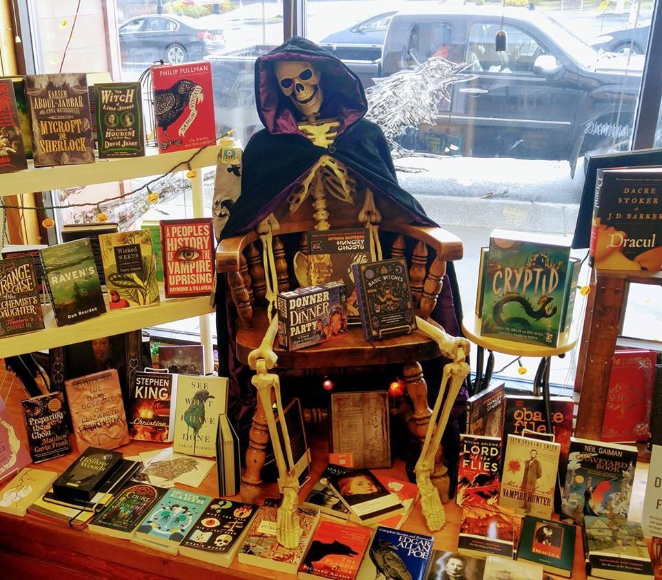 BOOks! Indie Booksellers Showing Halloween Spirit   Shelf
