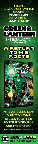 DC Comics: The Green Lantern Vol. 1: Intergalactic Lawman by Grant Morrison, illustrated by Liam Sharp
