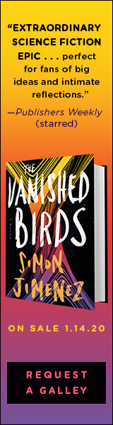 Del Rey Books: The Vanished Birds by Simon Jimenez