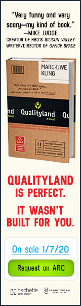 Grand Central Publishing: Qualityland by Marc-Uwe Kling