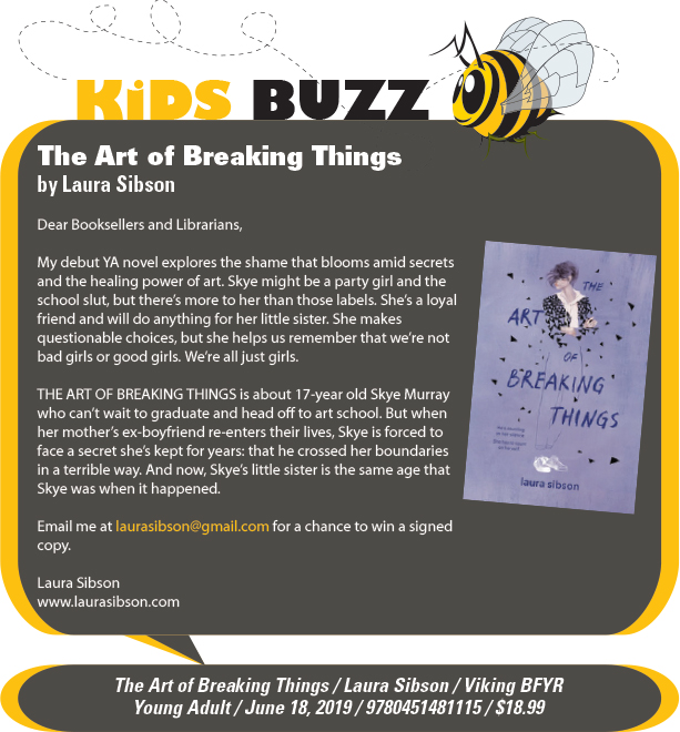KidsBuzz: Viking BFYR: The Art of Breaking Things by Laura Sibson