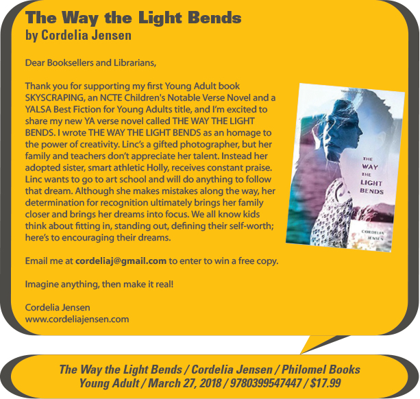 KidsBuzz: The Way the Light Bends by Cordelia Jensen