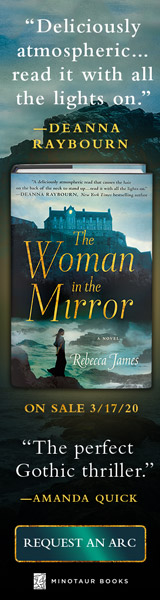 Minotaur Books: The Woman in the Mirror by Rebecca James
