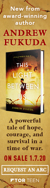 Tor Teen: This Light Between Us: A Novel of World War II by Andrew Fukuda