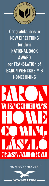 New Directions: Baron Wenckheim's Homecoming by László Krasznahorkai, translated by Ottilie Mulzet