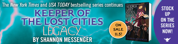 Aladdin Paperbacks: Legacy (Keeper of the Lost Cities #8) by Shannan Messenger