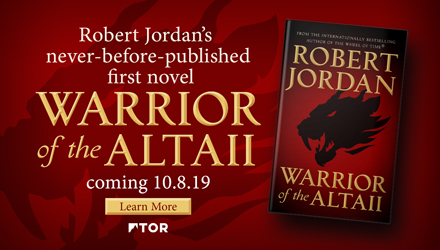 Tor Books: Warrior of the Altaii by Robert Jordan