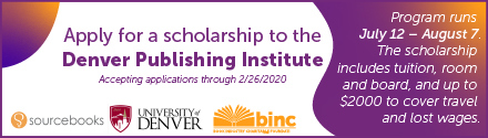 BINC: Apply for a Scholarship to the Denver Publishing Institute