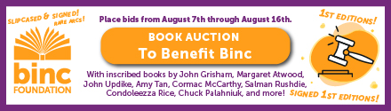 BINC: Book Auction to Benefit BINC - Click Here!