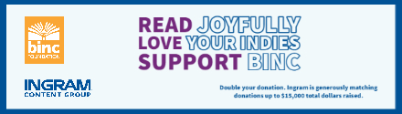 Book Industry Charitable Foundation: Double your donation!