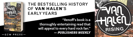 ECW Press: Van Halen Rising: How a Southern California Backyard Party Band Saved Heavy Metal by Greg Renoff