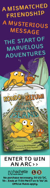 Little, Brown Books for Young Readers: Kondo & Kezumi Visit Giant Island by David Goodner, illustrated by Andrea Tsurumi
