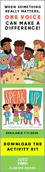 Clarion Books: Speak Up by Miranda Paul, illustrated by Ebony Glenn