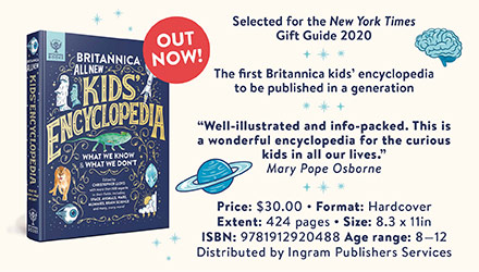 Britannica Books: Britannica All New Kids' Encyclopedia: What We Know & What We Don't by Britannica Group, edited by Christopher Lloyd
