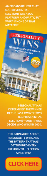 Post Hill Press: Personality Wins: Who Will Take the White House and How We Know by Merrick Rosenberg and Richard Ellis