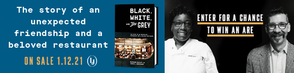 Lorena Jones Books: Black, White, and the Grey: The Story of an Unexpected Friendship and a Beloved Restaurant by Mashama Bailey and John O Morisano