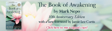 Red Wheel: The Book of Awakening: Having the Life You Want by Being Present to the Life You Have (20th Anniversary Edition) by Mark Nepo, foreword by Jamie Lee Curtis