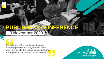 Sharjah Book Authority: Publishers Conference, November 1st - 3rd 2020