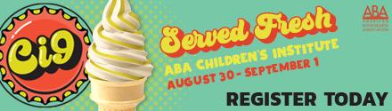 American Booksellers Association: ABA Children's Institute, August 30 - September 1! Register today!