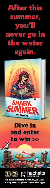 Little, Brown Books for Young Readers: Shark Summer by Ira Marcks