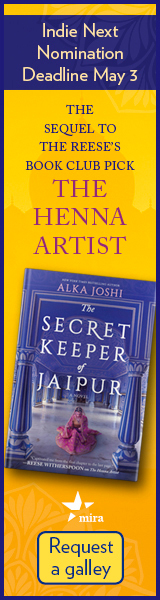 Mira Books: The Secret Keeper of Jaipur by Alka Joshi