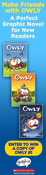 Graphix: Make friends with Owly, a perfect graphic novel for new readers