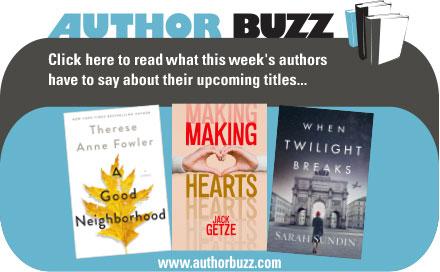 AuthorBuzz for the Week of 01.25.21