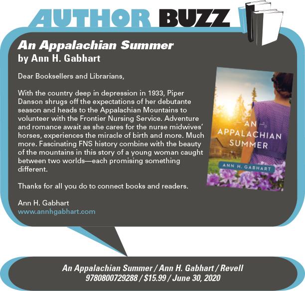AuthorBuzz: Revell: An Appalachian Summer by Ann H. Gabhart