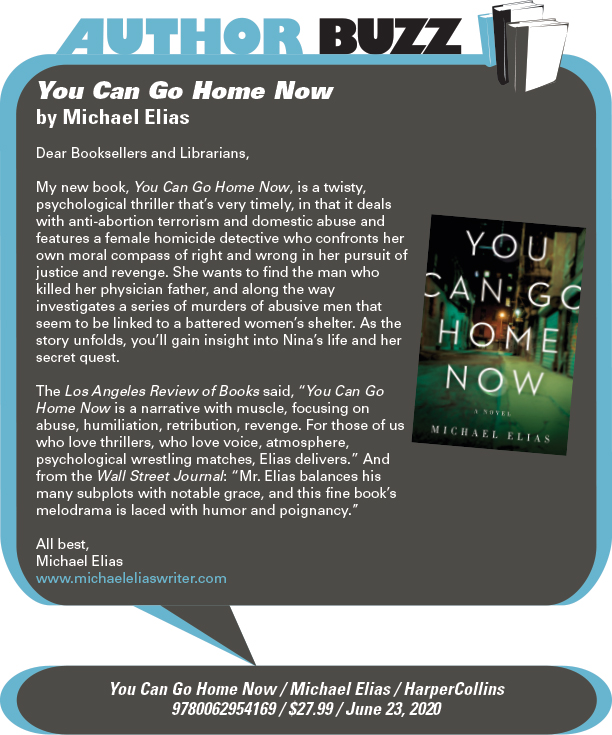 AuthorBuzz: Harper: You Can Go Home Now by Michael Elias