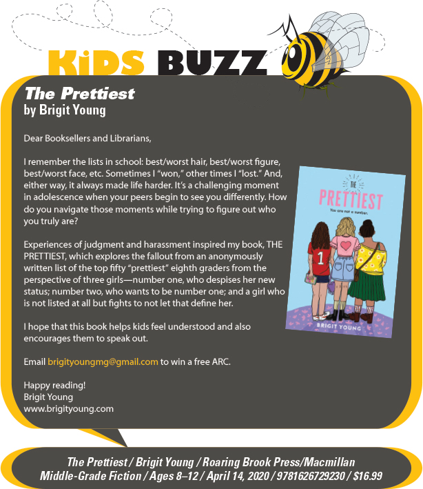 KidsBuzz: Roaring Brook Press: The Prettiest by Brigit Young