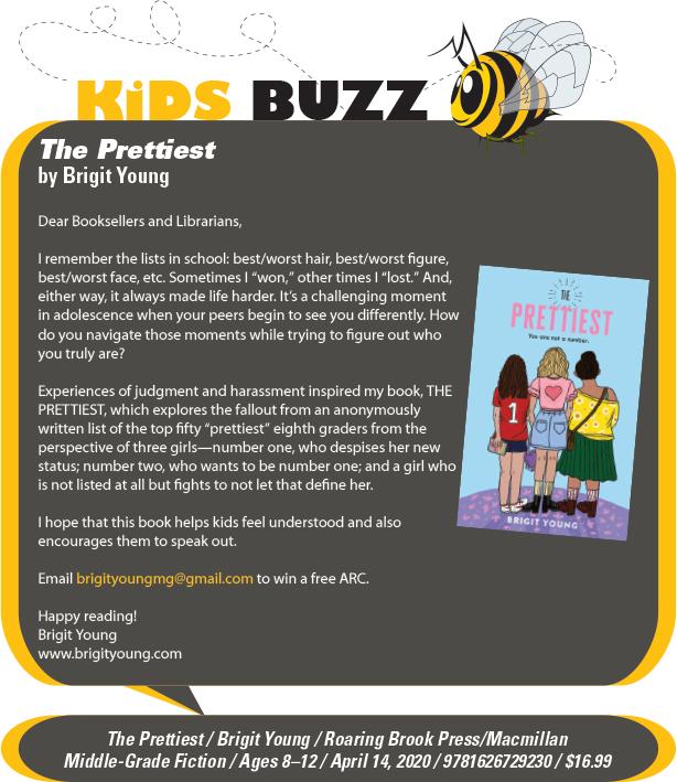 KidsBuzz: Roaring Brook Press: The Prettiest by Brigit Young